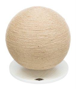Trixie krabpaal bal op voet jute / hout