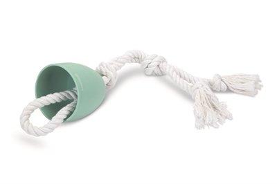 Beeztees touwtrekker pullina groen