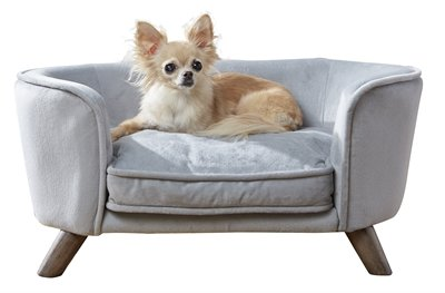 Enchanted hondenmand / sofa romy grijs