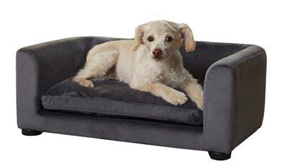 Enchanted hondenmand / sofa cookie donkergrijs