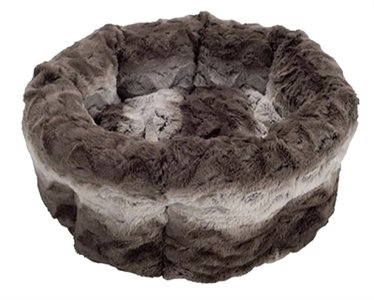 40 winks kattenmand snuggle grijs / creme