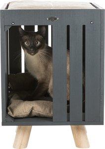 Trixie be nordic kattenhuis alva antraciet / zand