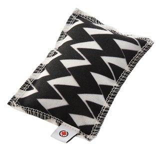 Canadian cat speelkussen zigzag met catnip zwart / wit