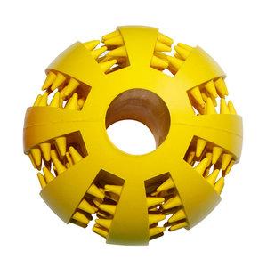Dental massage ball - Geel