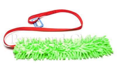 SWAG Chasing Micromop 1,4m - Micromop: Limegroen / Handvat: Rood