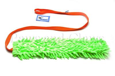 SWAG Chasing Micromop 1,4m - Micromop: Limegroen / Handvat: Oranje