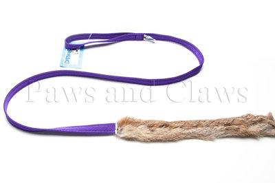 SWAG Chasing Rabbitskin 1,4m - Handvat: Paars