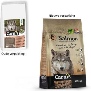 Carnis Geperste brok Salmon- Regular - 12,5kg