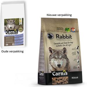 Carnis Geperste brok Rabbit - Regular - 4kg