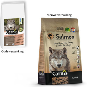Carnis Geperste brok Salmon- Regular - 4kg