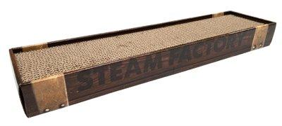 Croci krabplank homedecor wenge houtprint donkerbruin