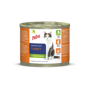 Prins NatureCare Cat Turkey- 200g