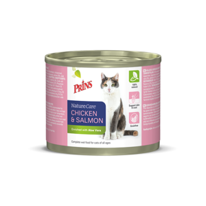 Prins NatureCare Cat Chicken & Salmon - 200g