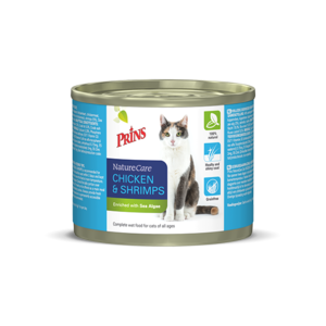 Prins NatureCare Cat Chicken & Shrimps - 200g